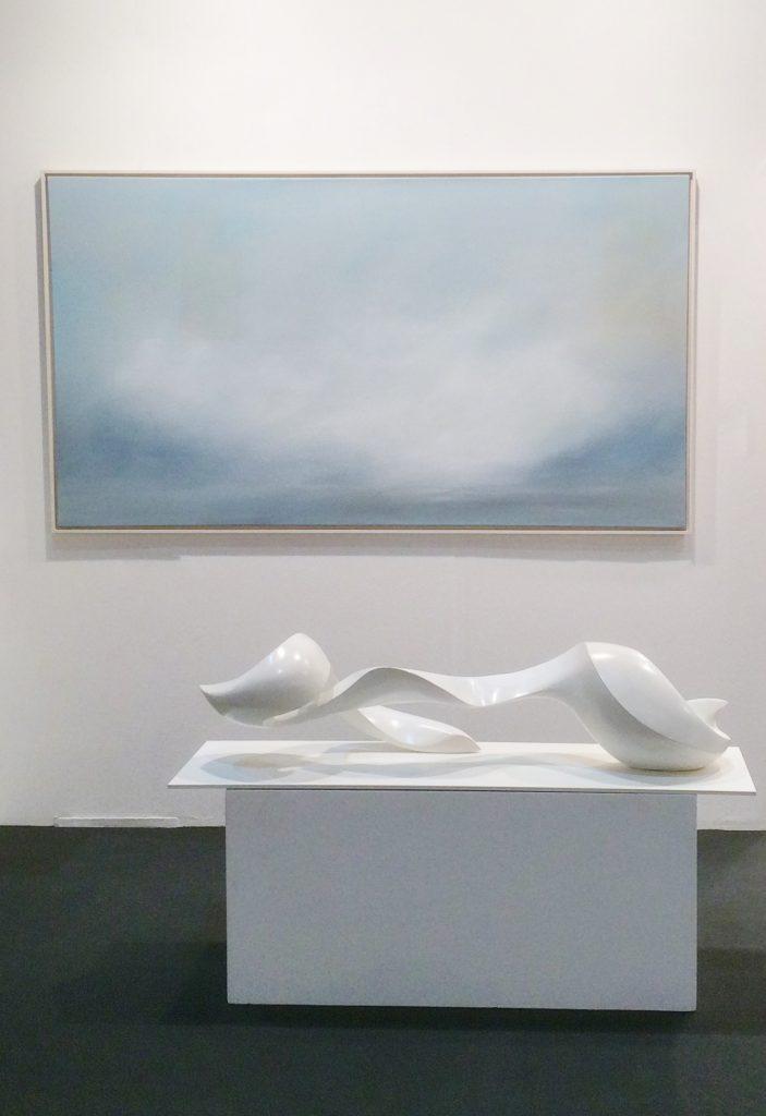 Formkomposition von Joachim Jurgelucks Galerie Janzen Düsseldorf
