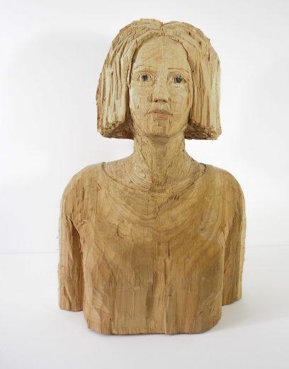 Stehende Frau, Thuja © Joachim Jurgelucks
