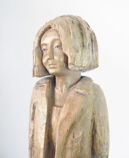 Frau im Mantel © Joachim Jurgelucks